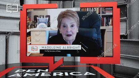 Stock Photo of Madeleine Albright, former Secretary of State.