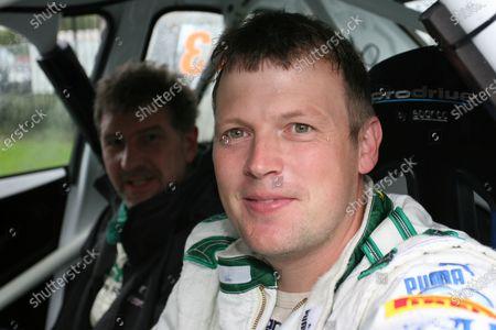 2006 British Rally Championship Ulster Rally, Armagh. 2nd September 2006 Julian Reynolds World Copyright - Ebrey/LAT Photographic