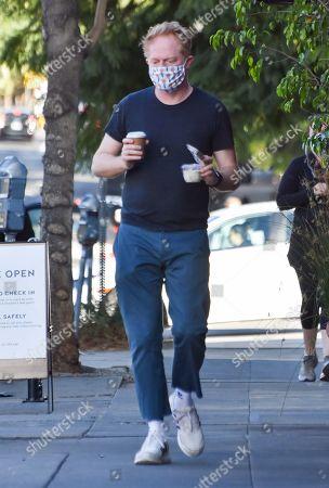 Jesse Tyler Ferguson gets coffee to-go