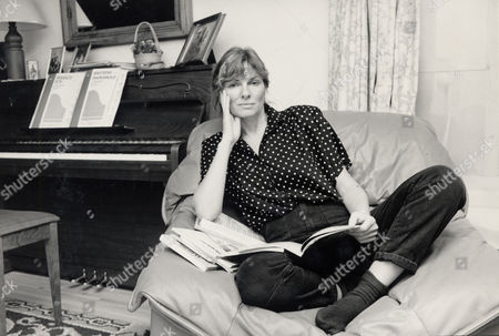 Editorial picture of Actress Julie Ege (died April 2008) Pictured At Her Home In Hokksund Norway.