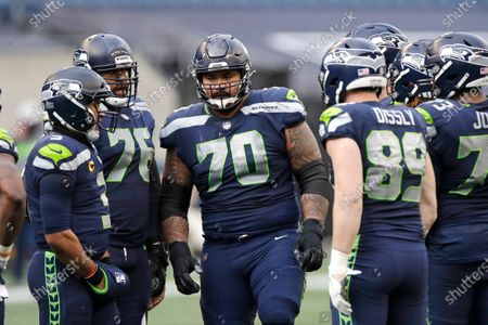Editorial image of Giants Seahawks Football, Seattle, United States - 06 Dec 2020