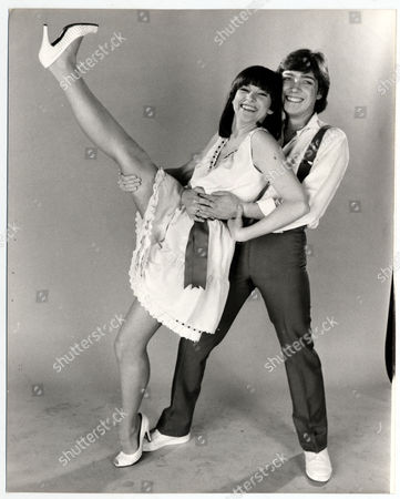 Stock Image of Pop Group Bardo Who Represented The Uk In The 1982 Eurovision Song Contest. Bardo Were Sally Ann Triplett And Stephen Fischer.