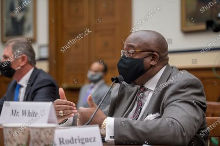 Editorial picture of House Committee on Armed Services - Subcommittee on Military Personnel hearing Fort Hood 2020: The Findings and Recommendations of the Fort Hood Independent Review Committee, Washington, District of Columbia, USA - 09 Dec 2020