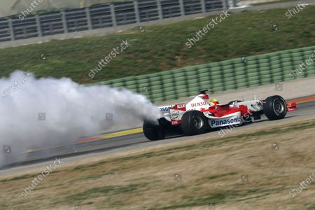 Editorial picture of Formula One Testing - 09 Dec 2020