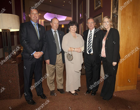 Stock Image of Paul Burfield (Enterprise Ireland), Brian Geoghegan, Mary Harney, Rodney Walsh (Honorary Consul), and Orla Saul (Tourism Ireland Manager for Australia and New Zealand)