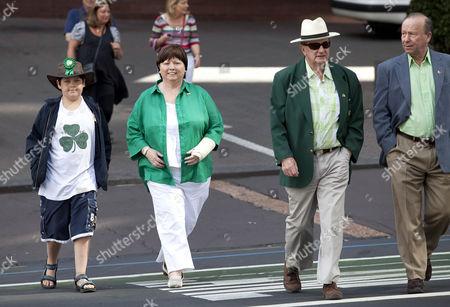 Stock Photo of Irish Health Minister Mary Harney