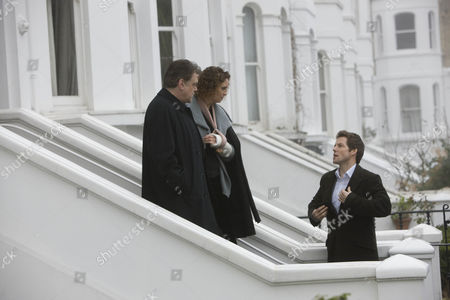 'Community Service' - Jamie Bamber, Kevin R McNally and Fiona Gillies.