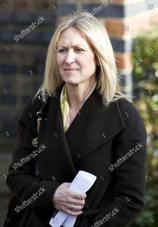 Fiona Millar, partner of Alastair Campbell