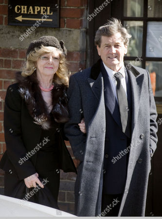 Melvyn Bragg and his wife Catherine Haste