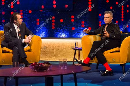 Jonathan Ross and Robbie Williams