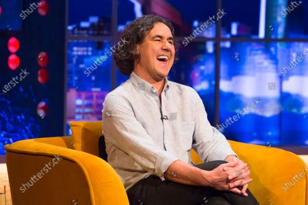 Editorial photo of 'The Jonathan Ross Show' TV show, Series 16, Episode 9, London, UK - 12 Dec 2020