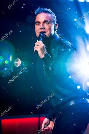 Stock Picture of Robbie Williams