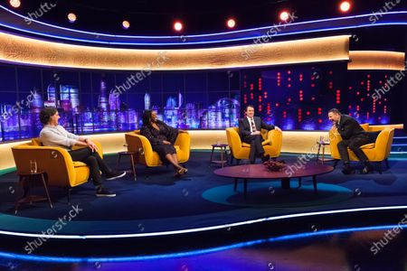 Editorial image of 'The Jonathan Ross Show' TV show, Series 16, Episode 9, London, UK - 12 Dec 2020