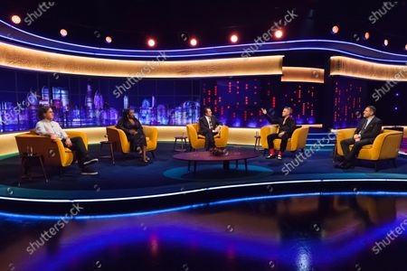 Editorial picture of 'The Jonathan Ross Show' TV show, Series 16, Episode 9, London, UK - 12 Dec 2020