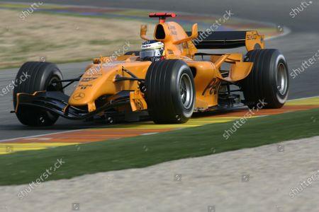 Editorial photo of ERC, Formula One Testing - 09 Dec 2020