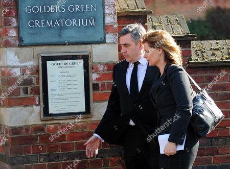 Gordon Brown and wife Sarah Brown