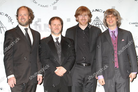 Page McConnell, Jon Fishman, Trey Anastasio and Mike Gordon of Phish