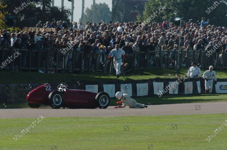 2005 Goodwood Revival Meeting Goodwood, West Sussex. 16th - 18th September 2005 Goodwood Trophy. Willie Green (Maserati 4CLT). World Copyright: Jeff Bloxham/LAT Photographic Digital Image Only