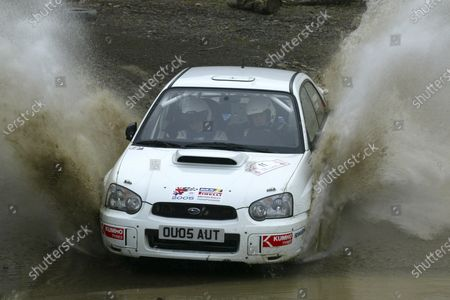 2005 British Rally Championship Rally of Wales. 23rd/24th April 2005 Paul Wedgbury/Gemma Price Subaru World Copyright: Ebrey/LAT Photographic