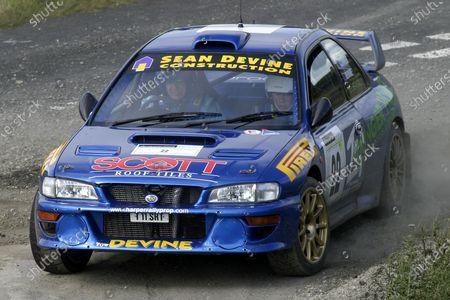 Editorial photo of BRC, 2004 Pirelli British Rally Championship - 04 Sep 2004