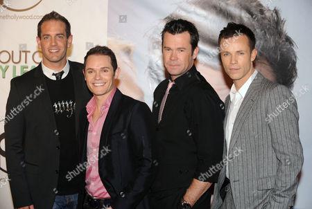 Toby Allen, Michael Tierney , Phil Burton and Andrew Tierney