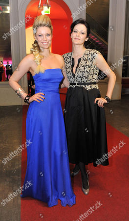 Stock Photo of Kiera Chaplin and Anelia Peschev