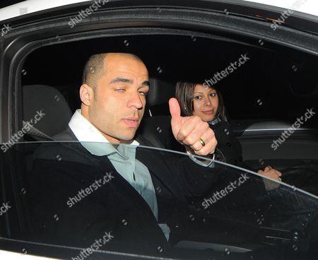 Alex Rodrigo Dias da Costa and wife