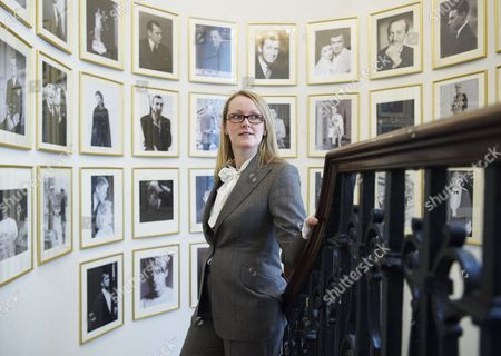 Kathryn Sargent, the first female Head Cutter on Saville Row, at Gieves and Hawkes tailors