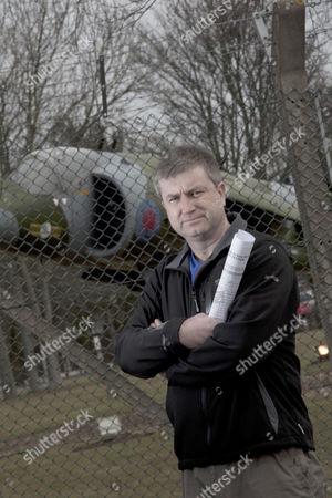 Editorial photo of Neil Allison, Save RAF Cottesmore Campaigner, Rutland, Britain - 12 Mar 2010