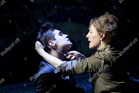 Luke Norris (Jimmy), Helen Schlesinger (Catherine)
