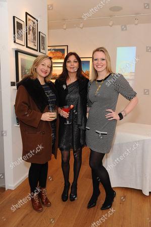 Susan Young (centre) and Michelle Boynton (r)