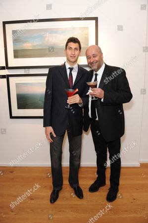 Richard Young and Karim Fayed