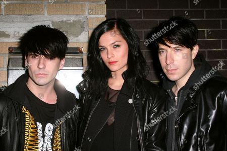 The Misshapes - Geordon Nicol, Leigh Lezark and Greg Krelenstein