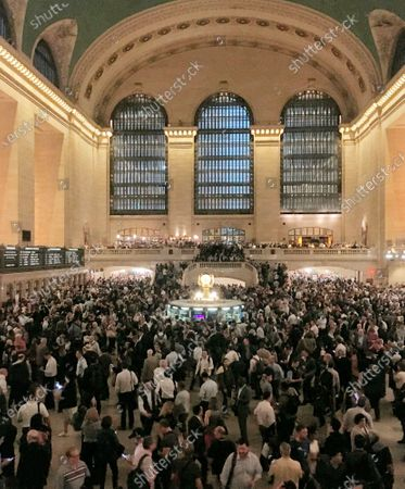 Commuters crowd the Grand Central Terminal in New York on . Asian American households saw the biggest income growth of any racial or ethnic group in the United States over the past decade and a half _ almost 8%. New figures released Thursday, Dec. 10, 2020 by the U.S. Census Bureau also show that household income for Latinos grew by almost 6% over that time