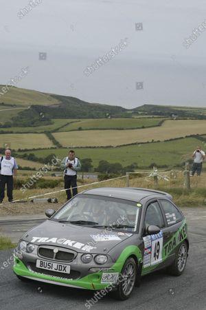 Stock Picture of Iain Henderson/Paul Farley. Manx International Rally. July 31st - August 2nd 2003. World copyright Jakob Ebrey/Lat Photographic.