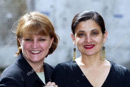 Sudha Bhuchar (right) And Kristine Landon-smith Founders Of The Southwark-based Tamasha Theatre Company.