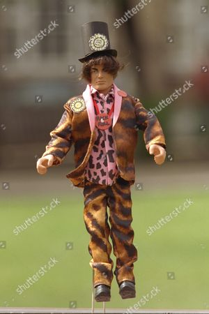 All Pictures Show All Action Models Made For A One Off For The Election Showing Lord Sutch The Models Made By Hasbro Uk Will Be Offered To The Political Leaders As A Gift And Another Set Will Go For Auction. Contact Is For Info Is Joanne Mcnally On 0171/482/4000. Caption Ends.........