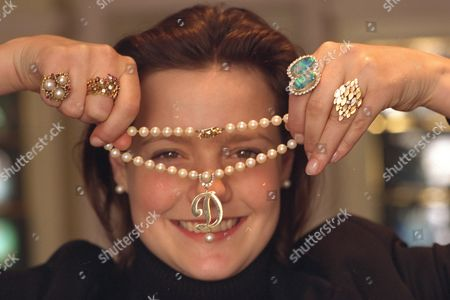 All Pictures Show Emma Blaydon Of Sothebys In London Posing With Items Of Jewellery Owned By The Former Wife Of Actor Roger Moore Dorothy Squires. Thirteen Items Went For Auction The Items Seen In In This Picture Left To Right Are Priceda Ring Sold For 462 / A Ring Sold For 690. A Necklace Sold For 690 A Ring Sold For 46o And A Ring Sold For 1.38o
