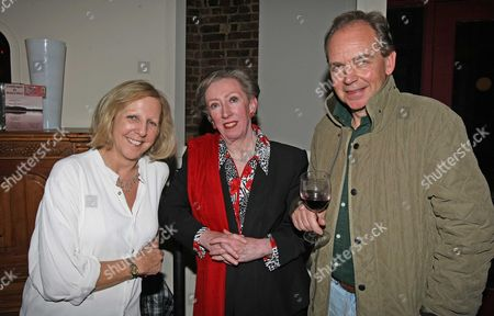 Margaret Beckett Mp Who Went To See Untitled At The Finborough Theatre Starring Actors Nichola Mcauliffe And Patrick Ryecart.