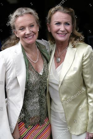 Hayley And Juliet Mills Arrive For Their Father Sir John Mills' Memorial Service At St Martin-in-the-fields.