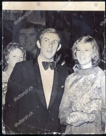 David Broome With Mary Gordon Watson - 1973 - Sportswriters Dinner. ...show Jumping-equestrian