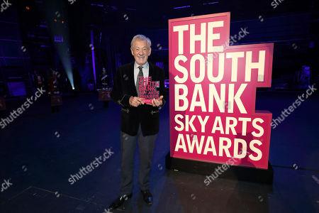 Sir Ian McKellen, Outstanding Achievement winner