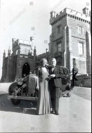 Actress Barbara Murray And Actor Norman Rodway Pose With The Car - They Are To Star In A Tv Drama - The Bretts - Along With The Car. The Buick Motor Car Was Owned By The Duke Of Windsor Which The Daily Mail Have Bought For A130 000 At Sothebys. The Buick Limousine Once Owned By Edward Viii And Now To Be Offered As A Prize In The Daily Mails Competition. A Nationwide Tour Meant That As Many People As Possible Could See The Car That Carries The Prince Of Wales Feathers On The Rear Doors. The Dm Bought The Car At Auction At Sotheby's For 130 000. Reg Cul 421 It Was In The Buick That Edward Viii Made The First Stage Of His Journey Into Exile After Abdicating His Throne Travelling From Fort Belvedere To Portsmouth Where He Boarded A Ship For France. ....motor Cars