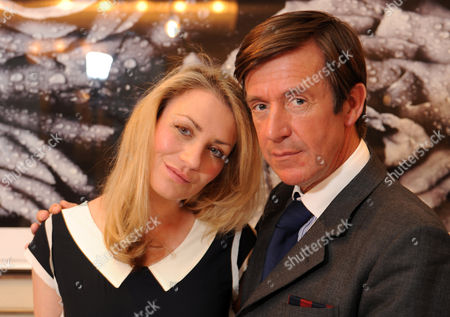 John Stoddart Photographer With Fiance Tara Hamilton-miller. 02.03.08