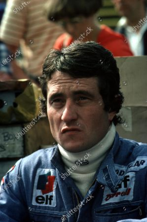 1977 Formula 1 World Championship. Patrick Depailler (Tyrrell-Ford Cosworth). Ref-D2A 04. World - LAT Photographic