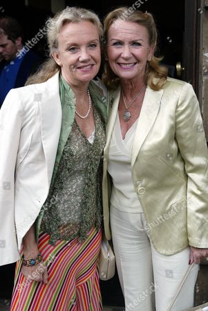 Hayley And Juliet Mills Arrive For Their Father Sir John Mills' Memorial Service At St Martin-in-the-fields London.