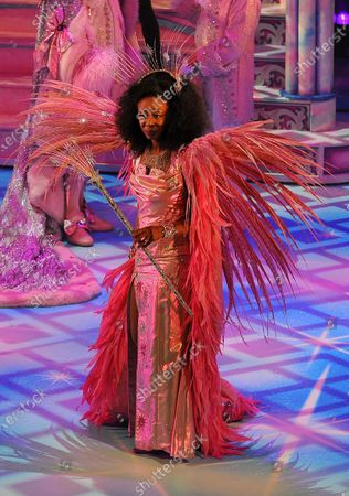 Beverley Knight a the Palladium. The cast of Pantoland at the Palladium at the London Palladium. Starring Julian Clary, Elaine Paige, Ashley Banjo & Diversity, Paul Zerdin, Nigel Havers, Gary Wilmot, Charlie Stemp, Jac Yarrow and special guest Beverley Knight Showing from Saturday the 12th of  December2020 until Sunday the 3rd of January 2021.