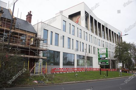 Editorial image of The Birmingham Hotel and Conference Centre complex, UK - 10 Dec 2020