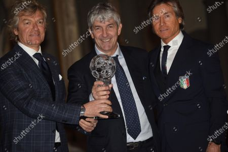 Former football players, Giancarlo Antognoni  Paolo  Rossi, Gabriele Oriali