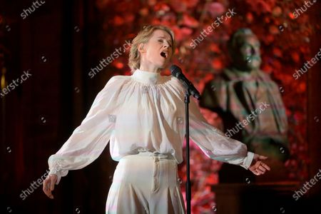 Editorial picture of Pre-recording of the music for the Nobel Prize ceremony in Stockholm, Sweden - 09 Dec 2020